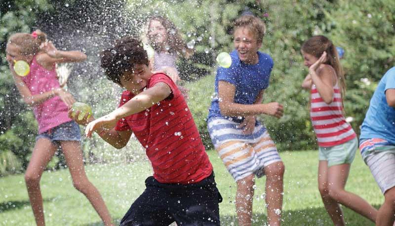 Les Jeux d'eau pour les Kids !